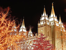 ~Christmas Lights at Temple Square~