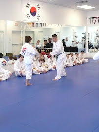 Ashley tested for her Yellow Belt last weekend--she did awesome.