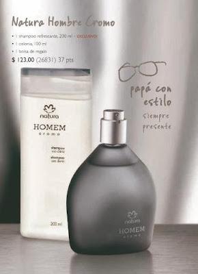 natura hombre cromo promoción barato perfume