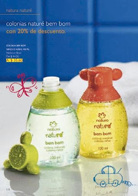 Natura perfumes niños infantiles