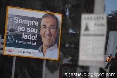 lixo eleições Algarve Fuseta