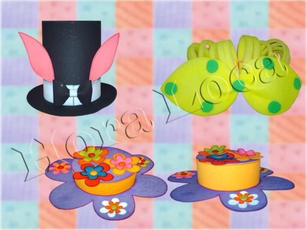 Moldes para sombreros - Imagui