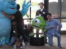 1st Grads Visit Pixar Studio!