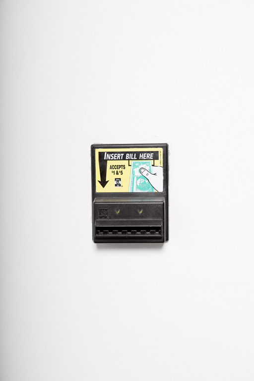 vending machine money collector