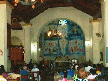 Mural para la Iglesia de Lezama