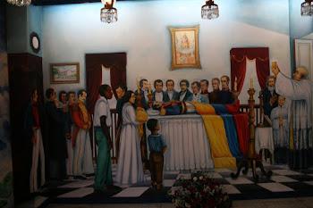 Salón Homenaje a Simón Bolivar