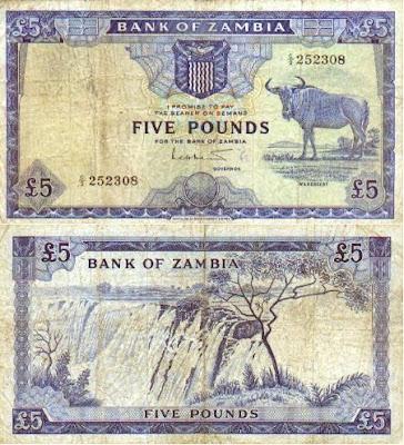 zambia banknotes