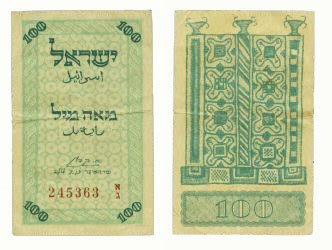 Israil bank currency