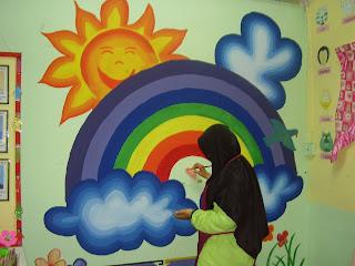 Prasekolah sk bangsar lukisan mural for Mural yang cantik
