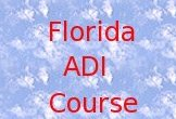 Florida ADI Course