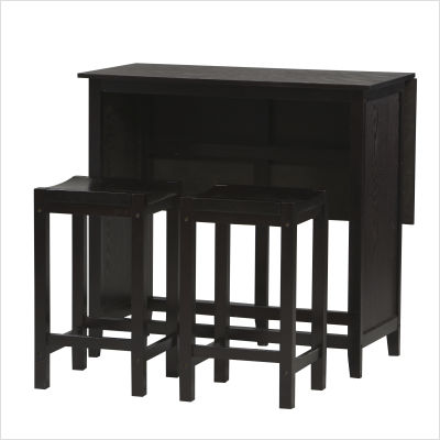 Linon Tavern Expandable Counter Height Dinette