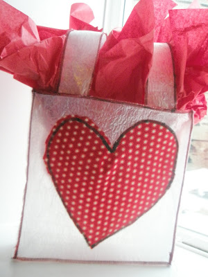 Reusable Gift Bag for Valentines Day