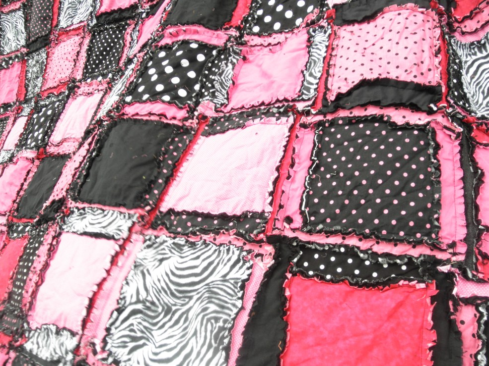 Queen Size Rag Quilts A Vision To Remember All Things Handmade