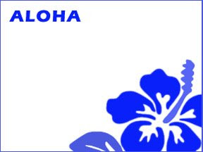 free printable hawaiian name tag