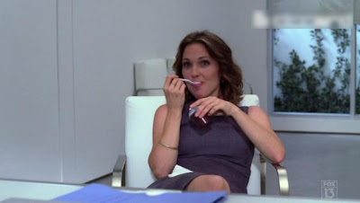 Kelli Williams as the pudding chick