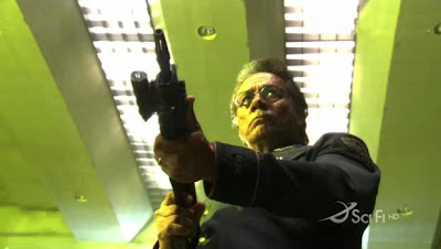 Edward James Olmos as William Adama