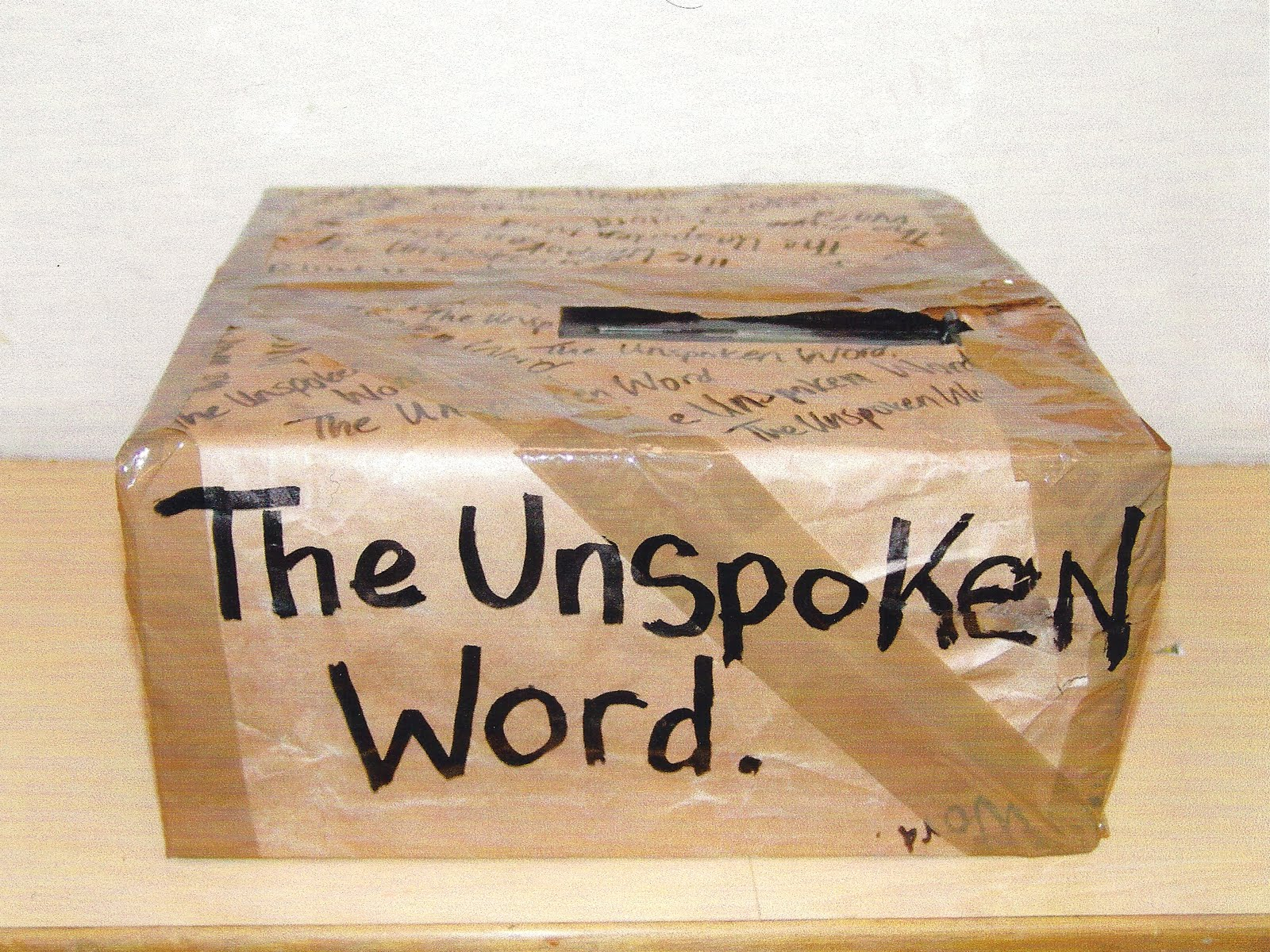[THE+UNSPOKEN+WORD]