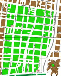 Mapa del barrio