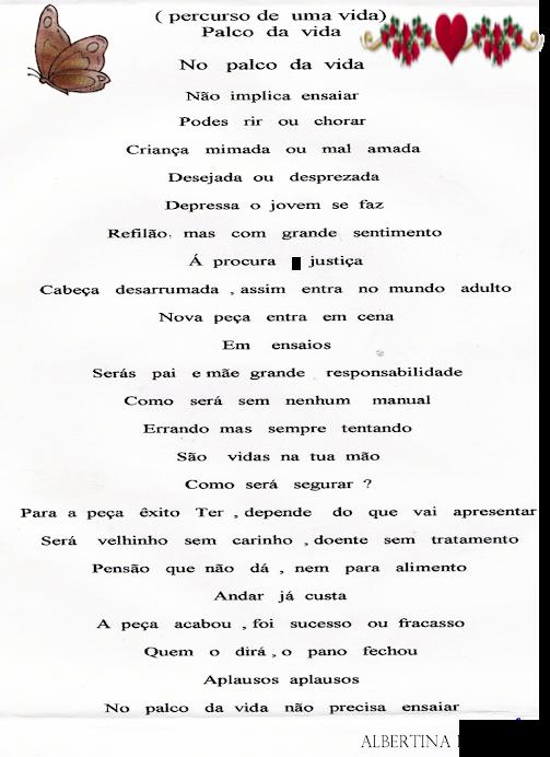 PALCO DA VIDA