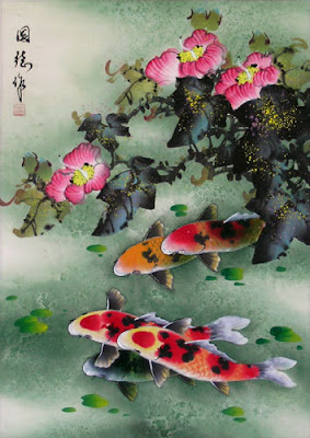 koi fish chinnes gallery