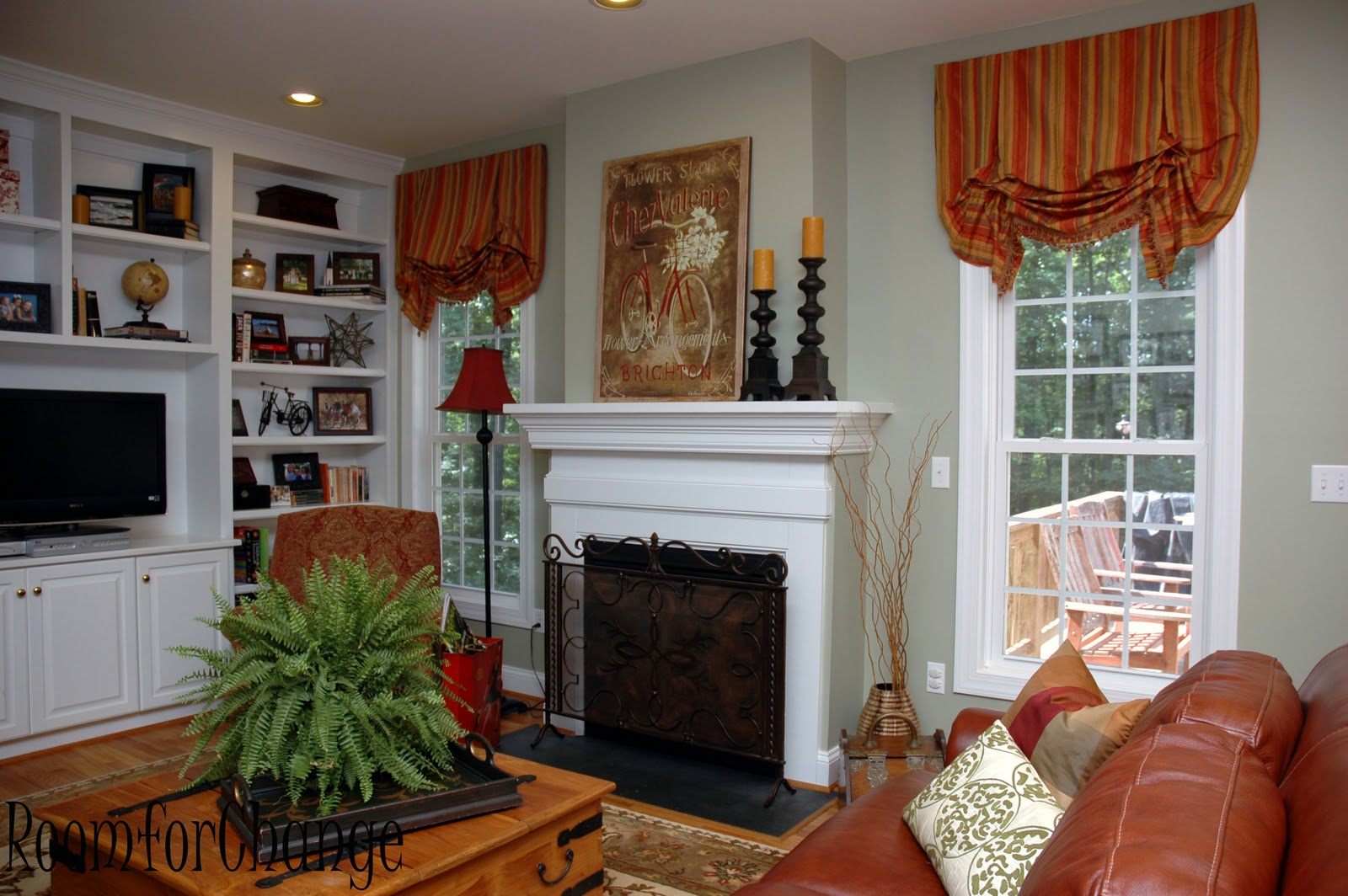 Embellish cramped to comfortable family room for Comfortable family room