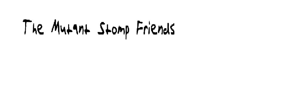 The Mutant Stomp Friends