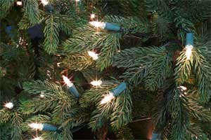 Canadian Fir Artificial Christmas Tree