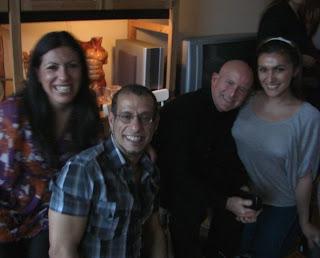 Cecilia, Miguel, René y Vanessa