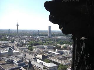 Vista desde la torre de La Catedral