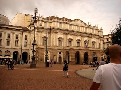 Teatro alla Scala, mayor teatro de ópera del mundo.