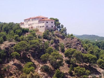 Monasterio en la sierra de Carrascoy