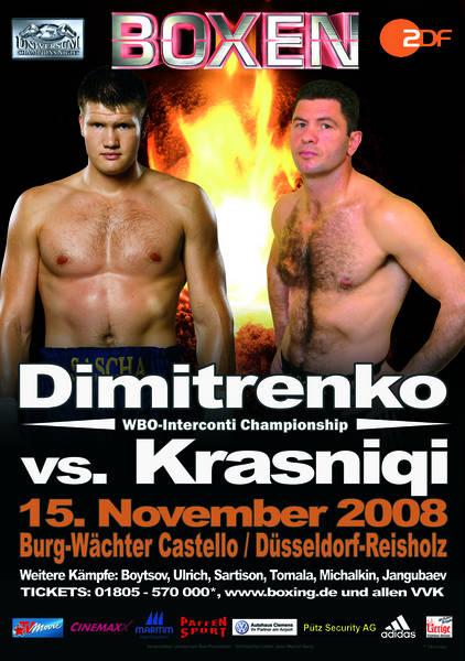 Krasniqi vs Dimitrenko