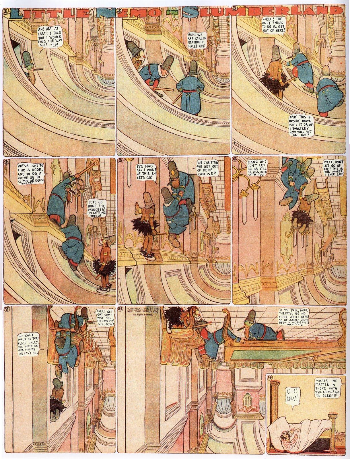 As Leituras do Pedro: Little Nemo in Slumberland - Há 105 anos, na ...