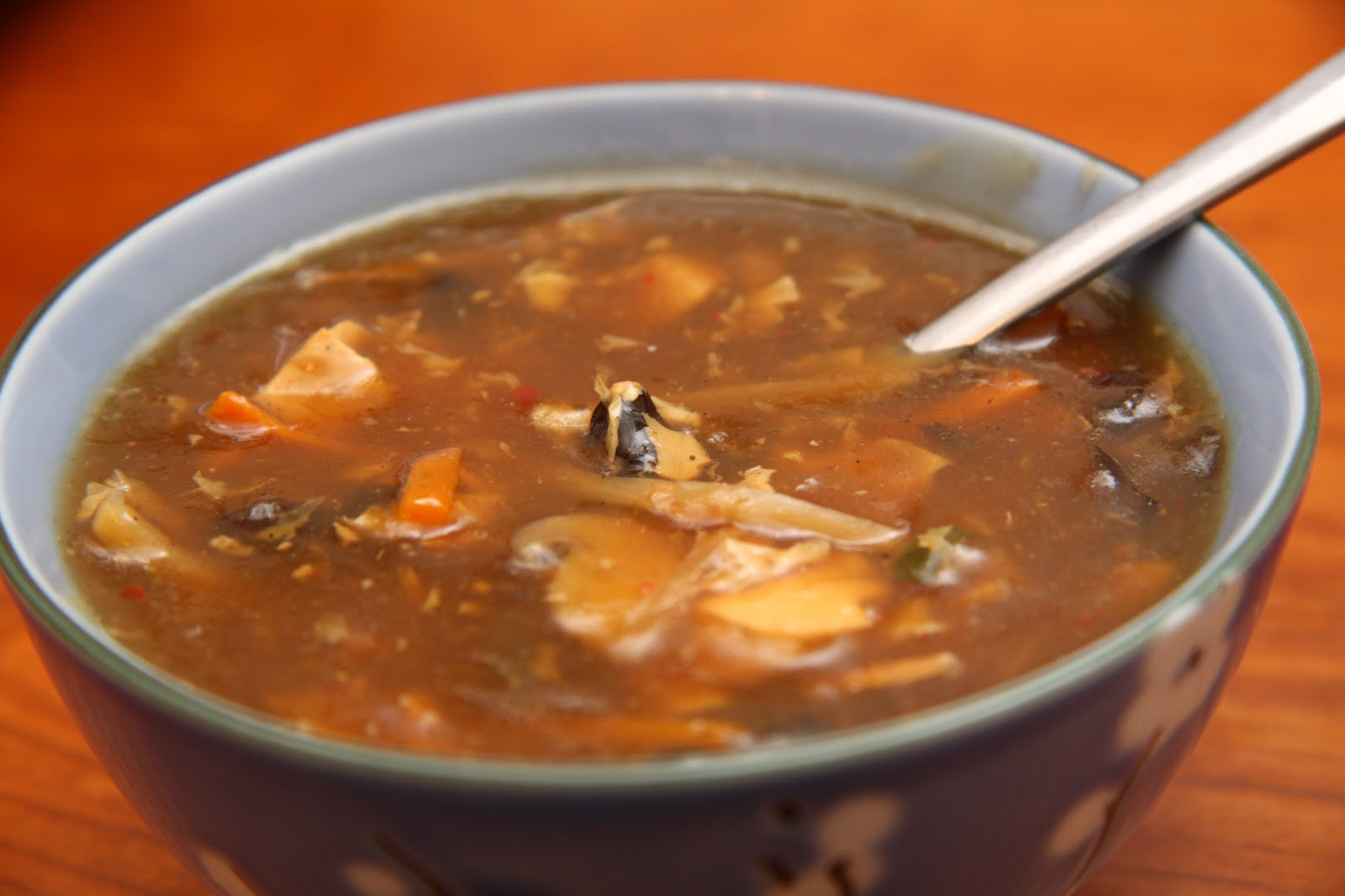 Pure Natural Kitchen: Hot and Sour Soup