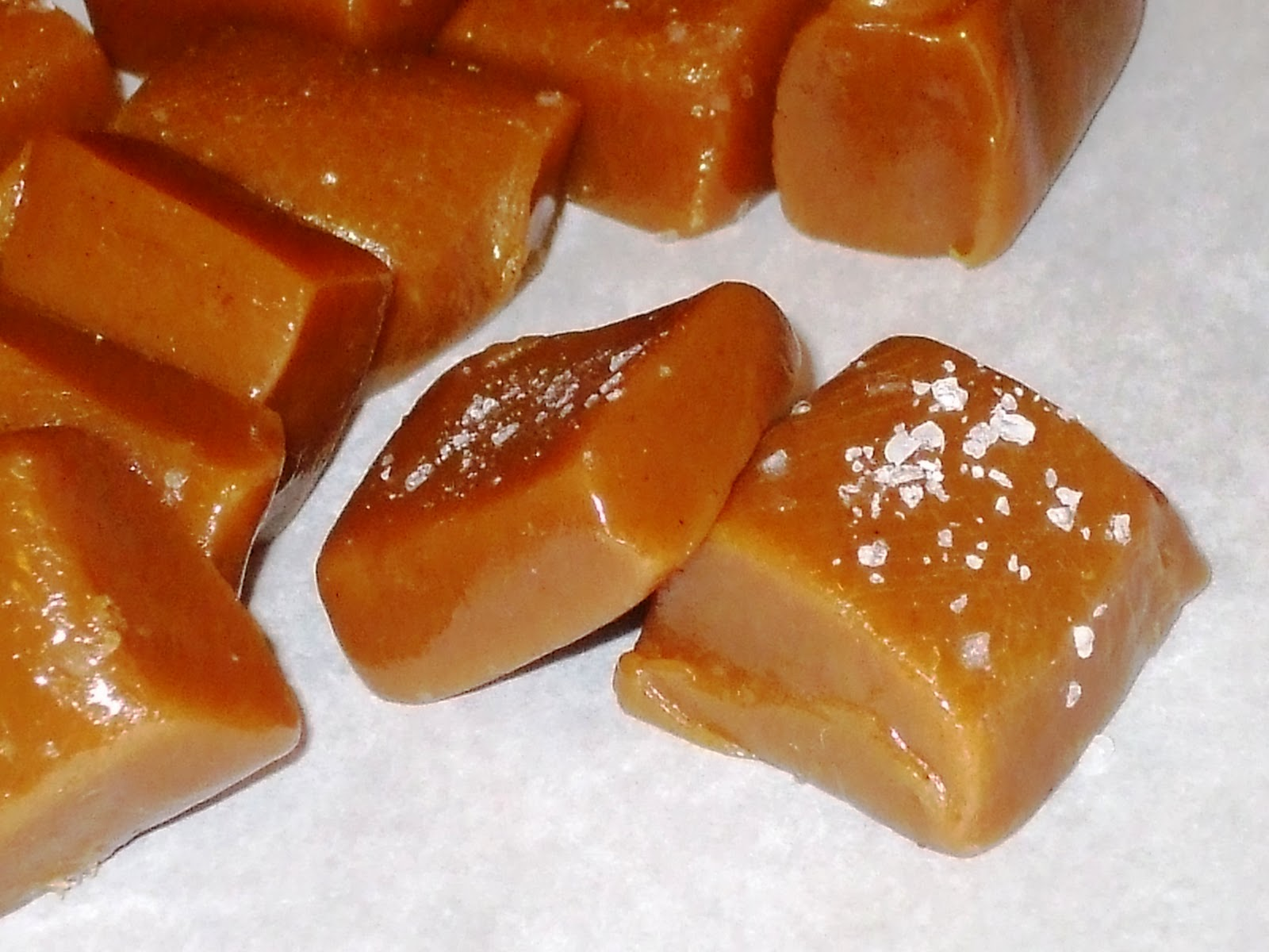 Sinful Sundays: Vanilla Sea Salt Caramel Candy