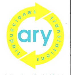 ARY TRADUCCIONES S.L. Mi empresa