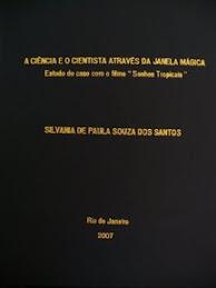 Minha Dissertação de Mestrado - FIOCRUZ - 2007