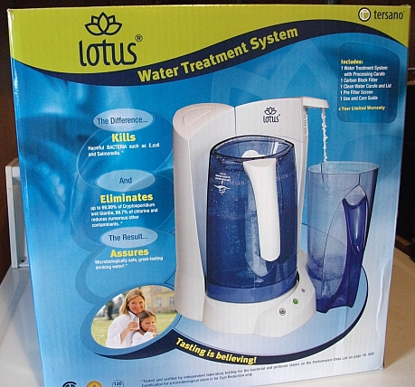 The Tersano lotus LWTCW1K Water Treatment System Clean Water Carafe with Lid is for use with the lotus Water Treatment System. Always have a pitcher of cool, great