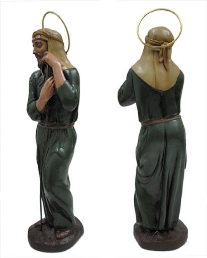 Portal de Belen artesanal, 5 figuras