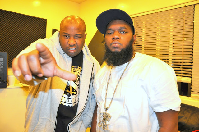 the jacka and freeway in studio