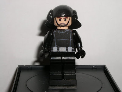 Custom LEGO Star Wars Death Star Trooper - front view