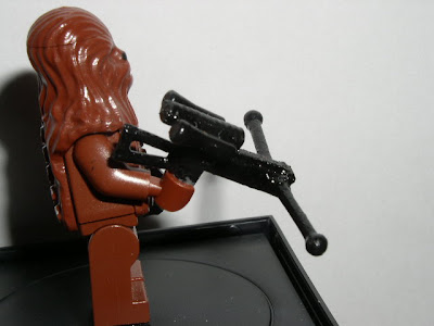 Custom LEGO Star Wars Wookie Crossbow - side view