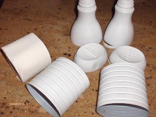 Поделки из пластиковых бутылок для туалетной бумаги 97