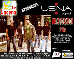 USINA no LUCENA Bar
