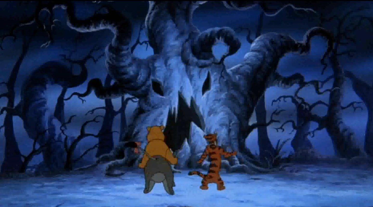 talk about it - Winnie The Pooh Heffalump Halloween