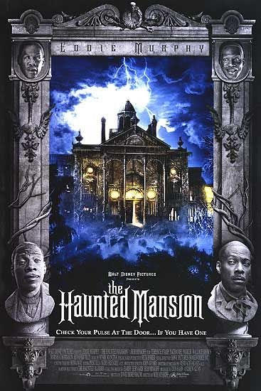 Family Friendly Halloween Movie Countdown Movie 16 The Haunted Mansion 2003