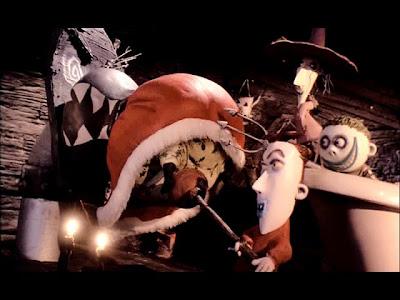 Lock, Shock and Barrel torture Santa Claus