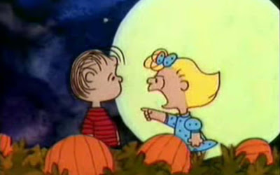 I was robbed. I spent the whole night waiting for the Great Pumpkin when I could have been out for tricks or treats. Halloween is over... I've missed it, You blockhead! You've kept me up all night waiting for the Great Pumpkin and all that came was a beagle.