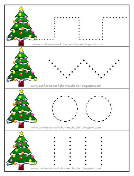 ... FREE Christmas activities for preschoolers. Get the printables HERE