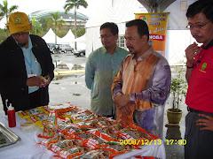 Lawatan Gerai Sempena Selangor Ria 2008-YB Hj Yakob Sapari
